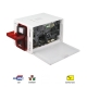 Drukarka Evolis Zenius Expert CONTACTLESS USB & ETHERNET ( ZN1H00CWRS )-front-open